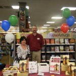 Book signing - Dancing on Glass